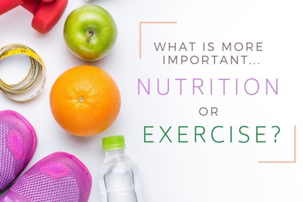What is More Important, Nutrition or Exercise - Radiant Health SF Blog Post