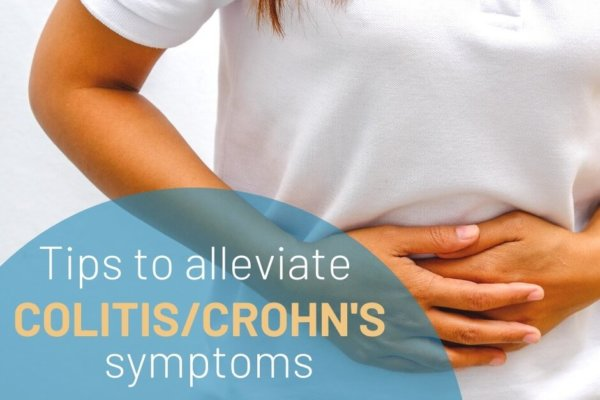 Tips to Alleviate Colitis / Crohn's Symptoms - Radiant Health SF Blog Post